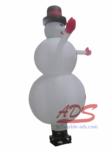 10 foot inflatable Christmas snowman 02