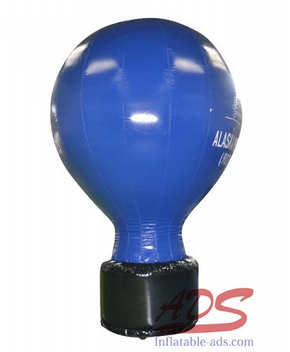 12'Landing hot air balloon advertisement 04