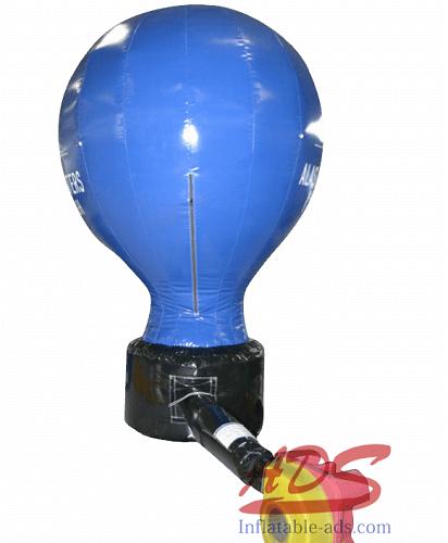 12'Landing hot air balloon advertisement 08