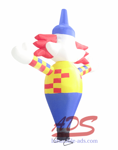 13' inflatable clown cartoon 01