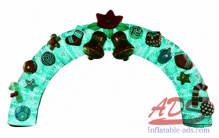 18-foot Christmas inflatable arch 02