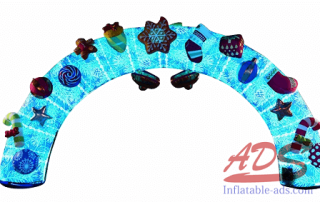 18-foot Christmas inflatable arch 04