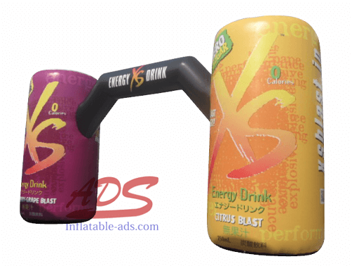 20' inflatable beverage can model 01