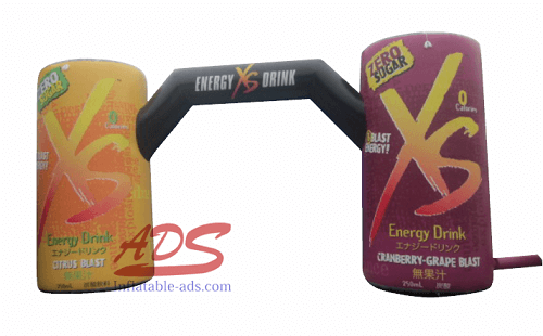 20' inflatable beverage can model 02