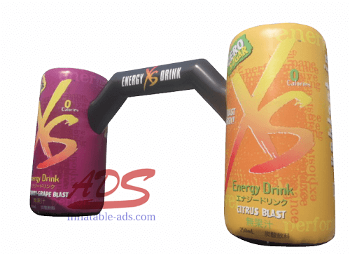 20' inflatable beverage can model 03