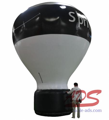 20'Landing hot air balloon advertisement 05