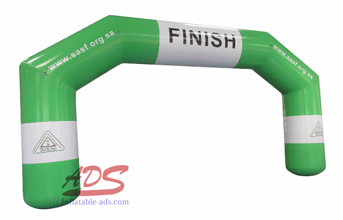 30 foot hot seal inflatable arch 02