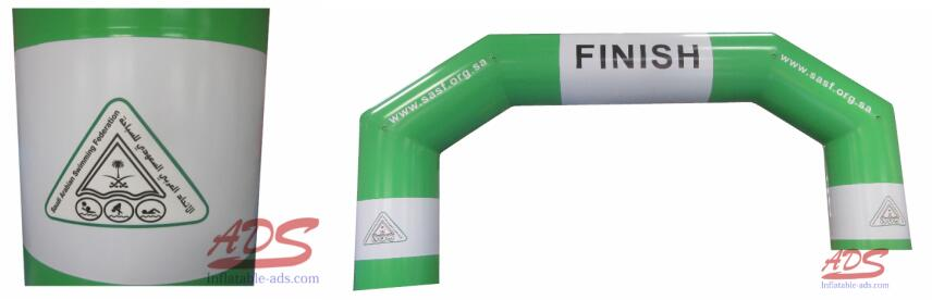 30 foot hot seal inflatable arch 2
