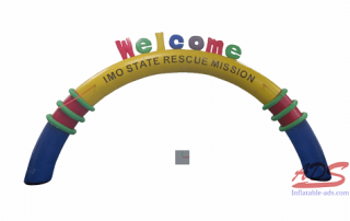 30 foot inflatable arch 01