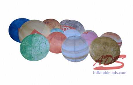 Inflatable planet 09